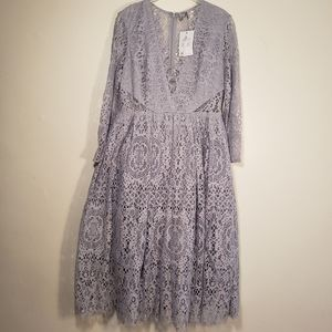 Asos  midi lace dress size 8